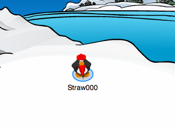 how to get the mining hat club penguin