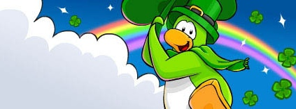 Club Penguin St. Patrick's Party