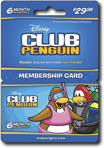 club penguin membership