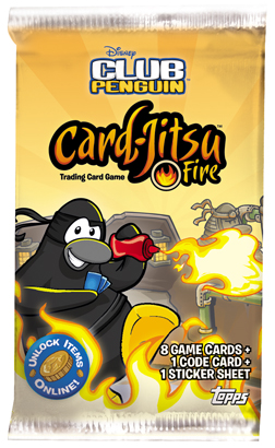 card-jitsu fire deck