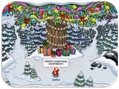 Image result for club penguin christmas